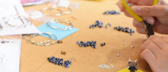 Présentation de l'atelier Pluie d'étoiles Bijoux