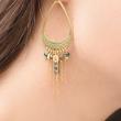 EOS Boucles d'oreilles nacre et or
