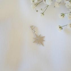 MIX & LOVE  Charm Estrella étoile argent