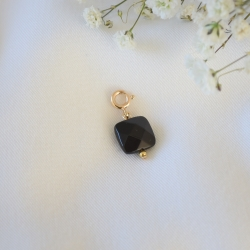 MIX & LOVE Charm pierre noir