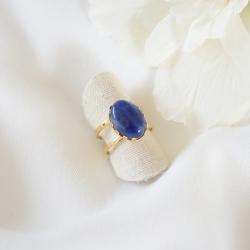 ZANZIBAR Bague lapis lazuli et or